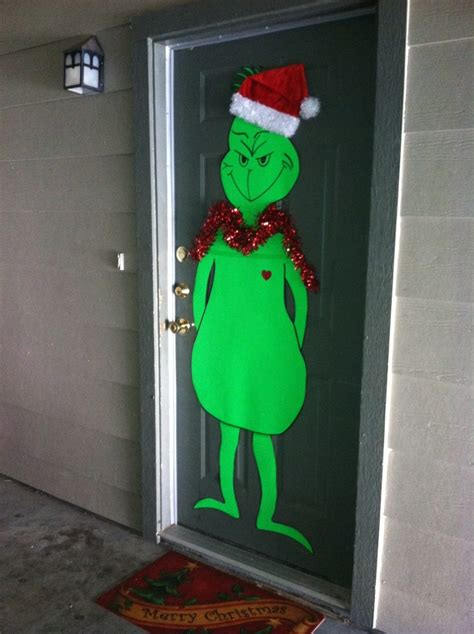 how the grinch stole door decorating ideas pin by telthorst on holidays
