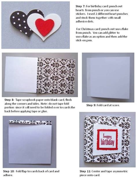 Steps To Make Handmade Cards - birthday card handmade find lots of easy unique designs
