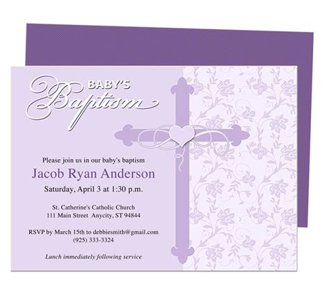 christening invitation template free 21 best images about printable baby baptism and