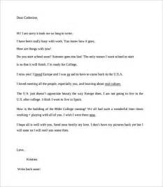 Format For A Friendly Letter Template 8 Sample Friendly Letter Formats To Download Sample