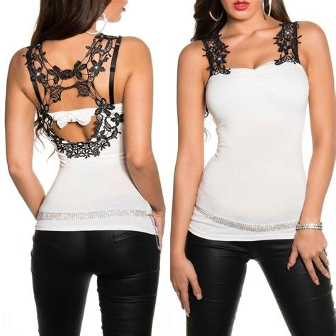 Sleeveless Rhinestone Top s embroidered evening sleeveless top with