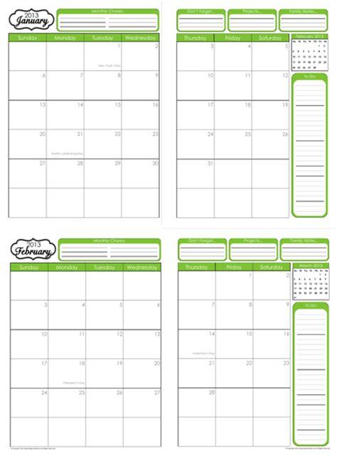 printable monthly calendar binder 2016 home binder printables calendar template 2016