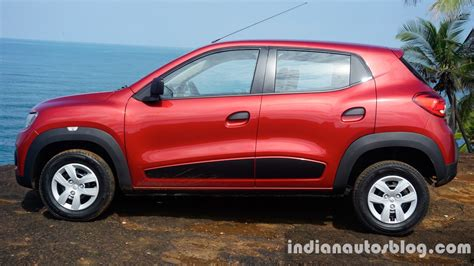 renault kwid side review indian autos