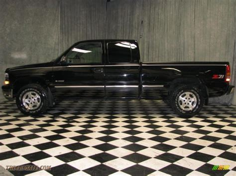 1999 chevrolet silverado 1500 lt extended cab 4x4 in onyx