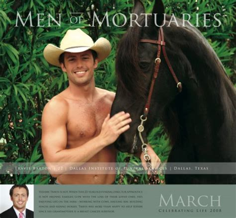 Of Mortuaries Calendar attempting to humanize funeral directors of