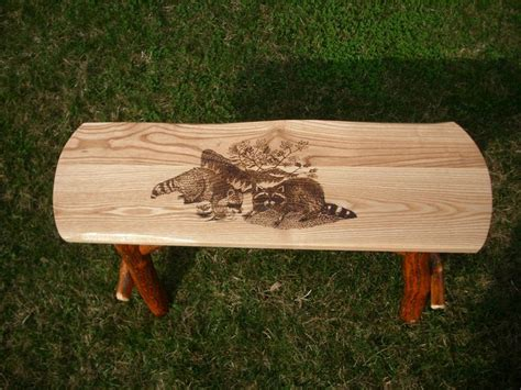 rustic log benches outdoor 39 best images about amish made rustic log sassafras