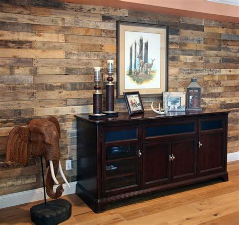 distressed wood accent wall 59 creative wood pallet ideas diy pictures designing idea