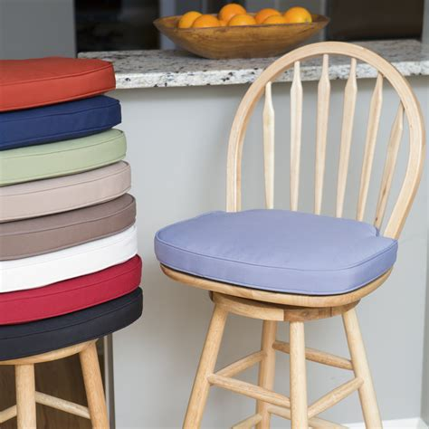 Kitchen Stool Seat Pads by Deauville 17 X 17 25 In Bar Stool Seat Cushion
