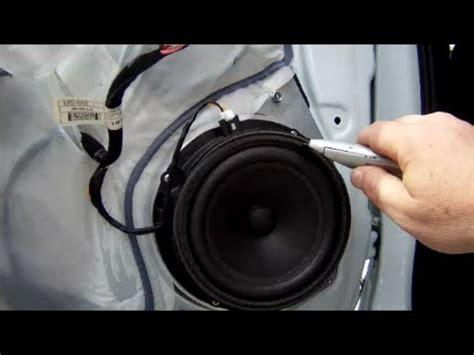 speaker replacement and door panel removal kia sportage