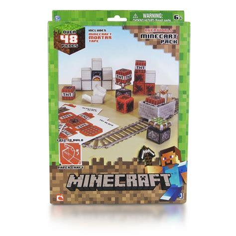 Minecraft Papercraft Minecart Set - minecraft papercraft minecart set br150 r 60 00 em