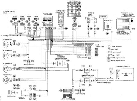 nissan mistral wiring diagram wiring diagram with
