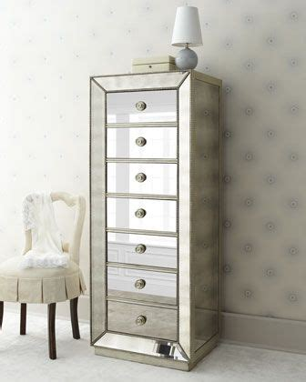 horchow mirrored armoire quot shilo quot lingerie chest at horchow bedrooms pinterest