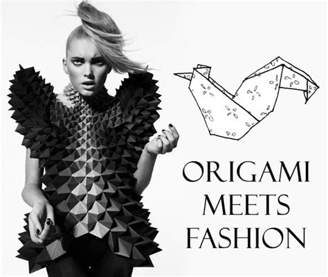 Origami Inspired Fashion - origamimeetsfashion jpg
