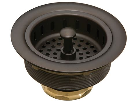 thompson traders 3 5 quot basket strainer rubbed bronze