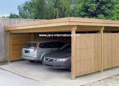 Carport 2 Voitures 593 tuinhuisjes gardival carport modern 593 x 655 cm