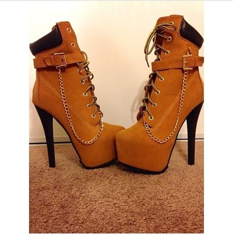 high heels timberlands pretty brown timberland high heel boots for