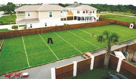 backyard soccer field backyard football field more than a field of dreams