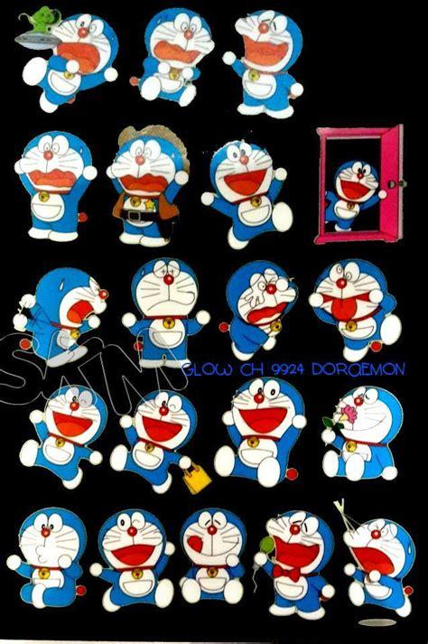 Wall Sticker Glow Doraemon by Jual Doraemon Character Wall Sticker Transparant Glow In