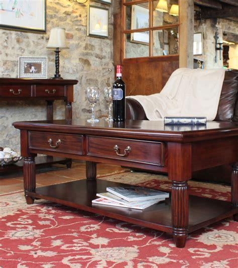 mahogany coffee table with drawers mahogany coffee table with drawers la roque wooden
