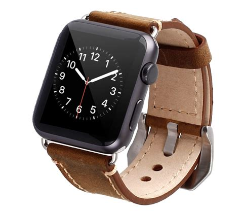 Original Leather Premium Cuff Apple Smartwatch 38 42mm the best third apple bands for 2016 omarcast
