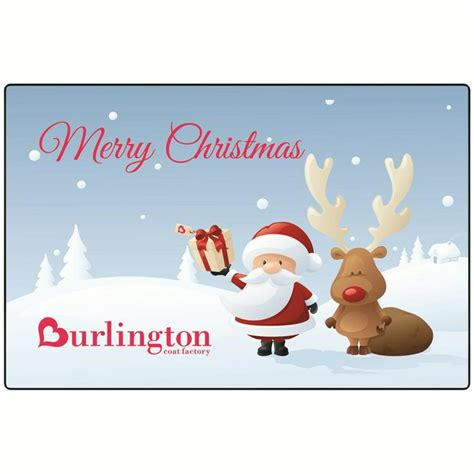 Burlington Gift Card - burlington coat factory gift card things i love about christmas p