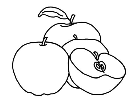 coloring pages apples free free printable apple coloring pages for kids