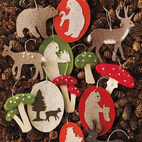 Martha Stewart Ornaments Handmade - warm and fuzzy crafts martha stewart