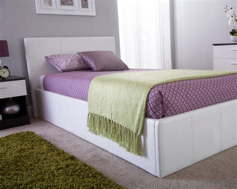 side lift ottoman storage sleigh bed side lift ottoman storage bed bf beds leeds