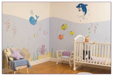 modern nursery decor ideas leaf nursery ideas