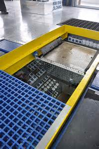 pit covers lube waste pan