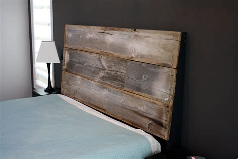 Barn Wood Headboard Reclaimed Barn Wood Headboard