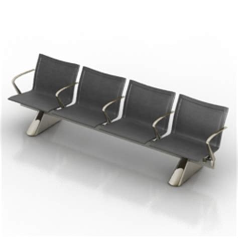 waiting area chairs 3d model 3d quot matteograssi seats for waiting areas kube meeting
