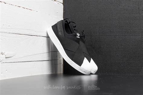Adidas Slip On Black Rs168 adidas superstar slip on w black ftw white footshop