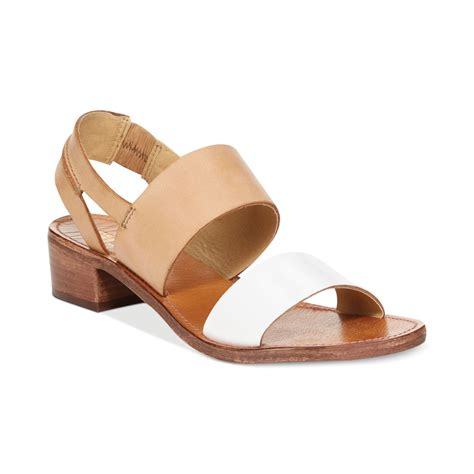 kenneth cole reaction sandals kenneth cole reaction womens block blott sandals in beige