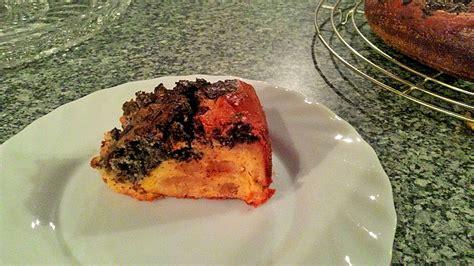 marzipan mohn kuchen mohn marzipan kuchen rezept mit bild trullalla