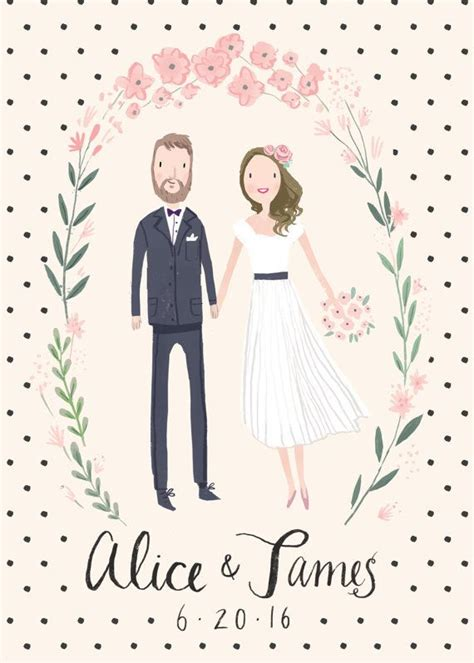 wedding invitations caricature drawing 25 best ideas about wedding illustration on