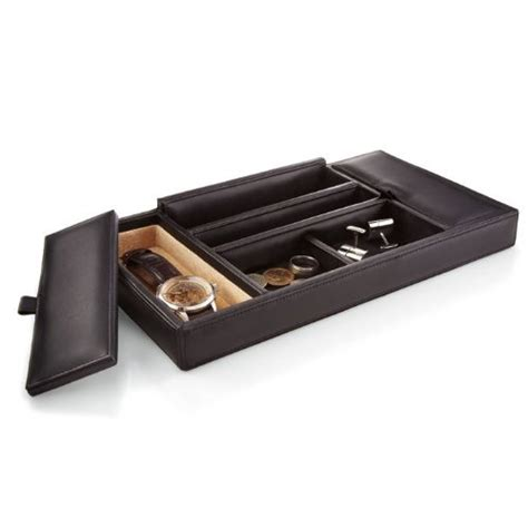 leather dresser valet tray swish wallets for