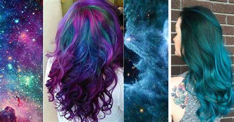 imagenes de pintado de cabello pelo gal 225 ctico o galaxy hair nueva tendencia para pintar