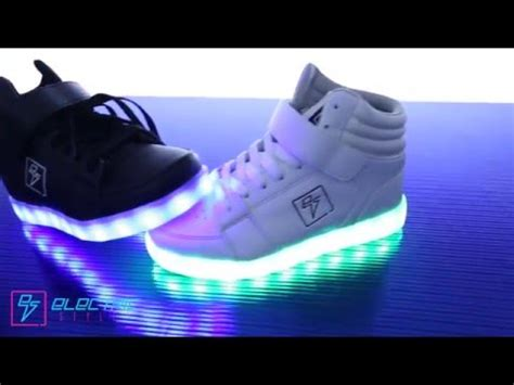electric shoes light up led shoes by electric styles