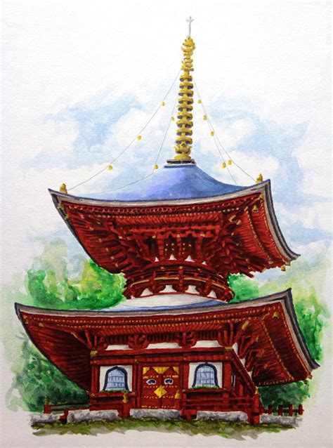 japanese pagoda by airavaldez0623 on deviantart