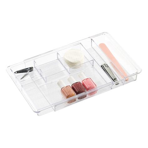 expandable desk drawer organizer interdesign linus expandable drawer organizer the container store