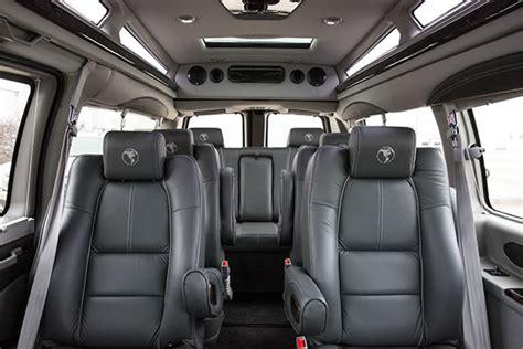 passenger chevygmc conversion vans  explorer van