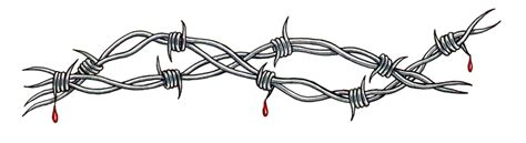 vire tattoo barbed wire by d and d tattoodesign on deviantart