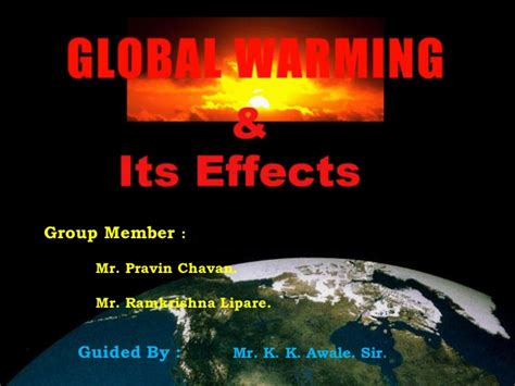 powerpoint themes for global warming global warming ppt