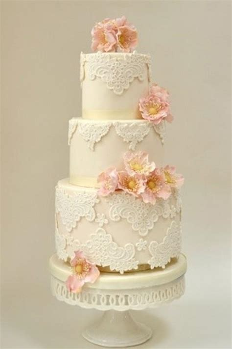 Vintage Wedding Cakes by Fondant Wedding Cakes Vintage Wedding Cake 805178