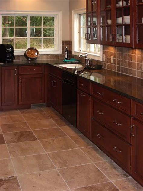 kitchen backsplash cherry cabinets pictures for works of art tile kitchen cabinet design