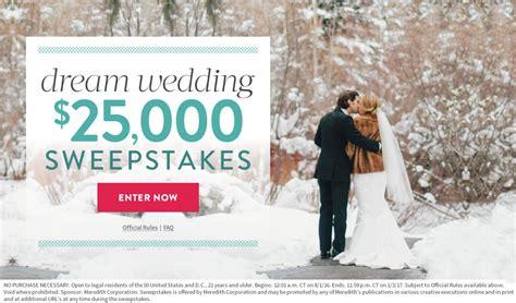 martha stewart weddings dream wedding 25 000 sweepstakes martha stewart weddings - Martha Stewart Wedding Sweepstakes