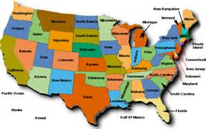 show a map of the united states of america usa business map
