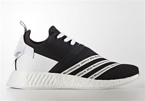 Sepatu Adidas Nmd Black White Anmd Bw white mountaineering adidas nmd r2 cg3648 cg3649 sneakernews