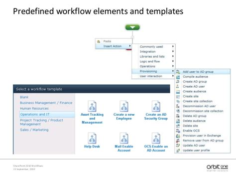 sharepoint workflow templates sharepoint 2010 workflows nintex